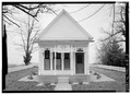 SOUTH FRONT - Governor Albert H. Roberts Law Office, 114 East Main Street, Livingston, Overton County, TN HABS TENN,67-LIV,1-3.tif