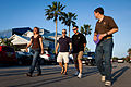 STS-135 crew walk to dinner.jpg