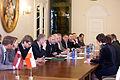 Saeimā viesojas Polijas-Latvijas parlamentu sadarbības grupas priekšsēdētājs (5660605088).jpg