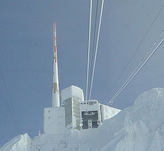 Säntis - Säntis Transmission tower