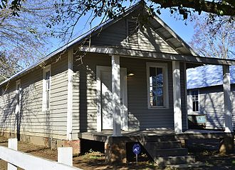 Hale County, Alabama - The Safe House Museum in Greensboro; in 1968 its owner sheltered Rev. Martin Luther King Jr. from Klan members in the area