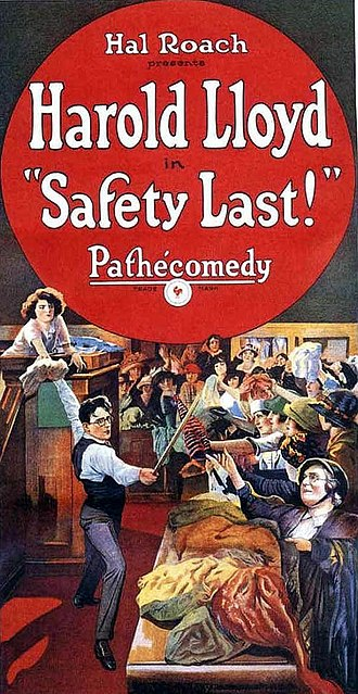 Safety Last! - Theatrical release poster