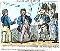 Sailor and tea kettle (caricature) RMG PU0173.jpg
