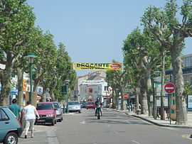 Town centre of Saint-Jean-de-Monts.