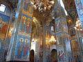 Saint-Pétersbourg - Cathédrale Saint-Sauveur-sur-le-Sang-Versé - Intérieur.JPG