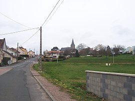 A general view of Saint-Berain-sous-Sanvignes