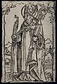 Saint Erasmus. Woodcut. Wellcome V0031934.jpg