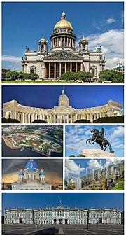Saint Petersburg montage