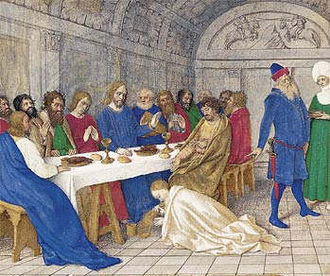 Christ (title) - The Anointing of Jesus, c. 1450