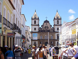 Northeast Region, Brazil - The Historic centre of Salvador, Bahia, was declared a UNESCO World Heritage site in 1985.
