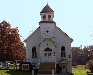 National Register of Historic Places listings in West Virginia - Sam Black Church, in Greenbrier County