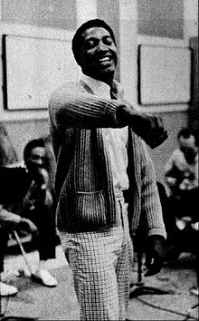 Sam Cooke in the recording studio 1961.jpg