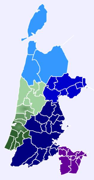 Bestand:Samenwerkingsregio's Noord-Holland (2014).png