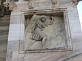 Samson Carries away the Gates of Gaza-Exterior of the Duomo-Milan.jpg