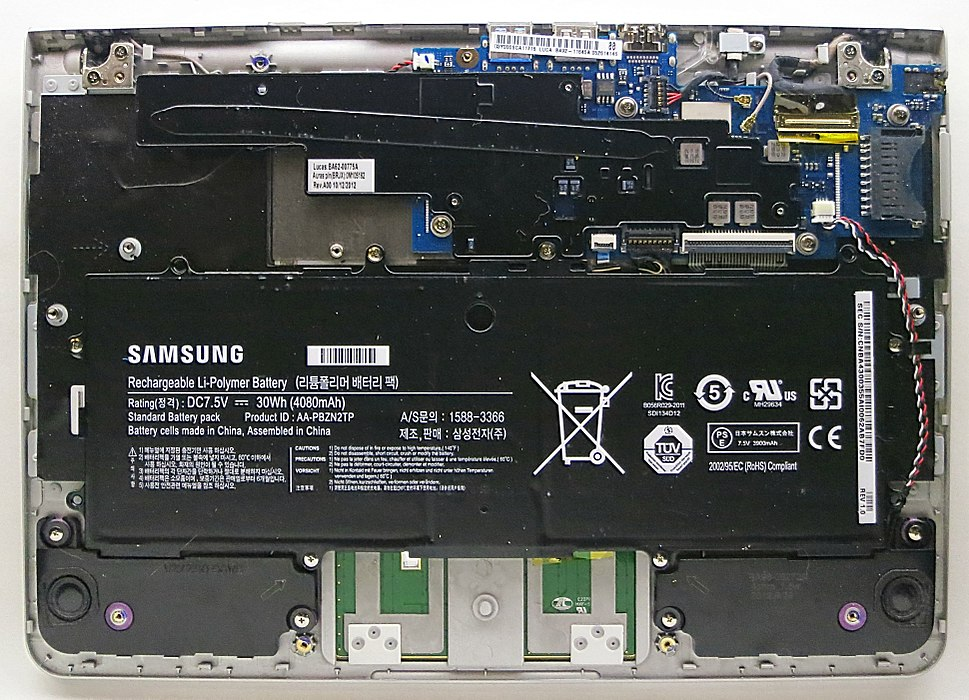Samsung Chromebook Series 3 internals