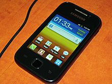 Samsung Galaxy Y - Wikipedia, the free encyclopedia