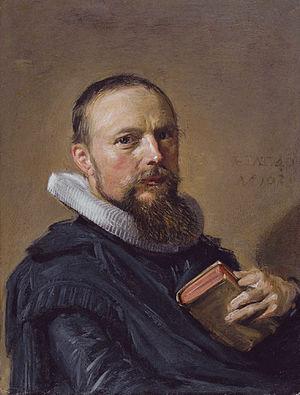 Samuel Ampzing - Samuel Ampzing by Frans Hals