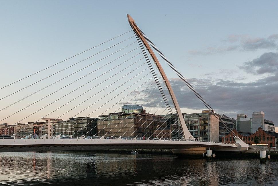Samuel Beckett Bridge, Dublin 20150807 1