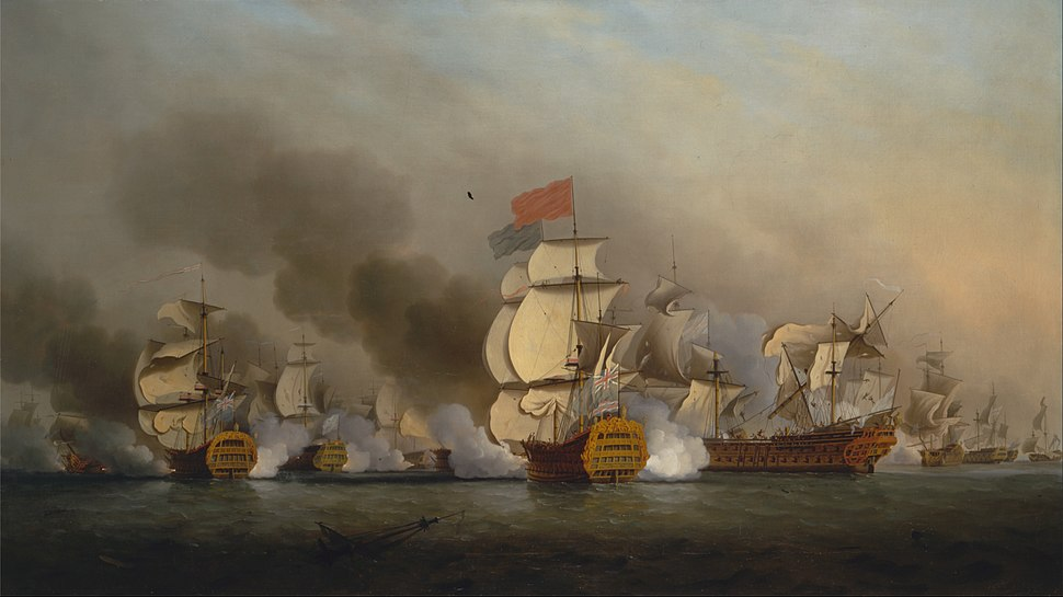 Samuel Scott - Vice Admiral Sir George Anson's Victory off Cape Finisterre - Google Art Project