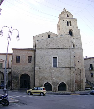 Miracle of Lanciano - The sanctuary of the miracle: Church of San Francesco