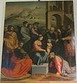 San domenico, pistoia, sagrestia, adorazione dei magi di fra paolino, post 1526.JPG