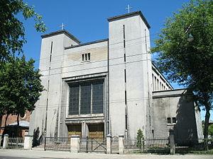 Šančiai - Church of the Holy Heart of Jesus in Šančiai