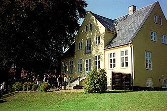Sandholm - Image: Sandholmgårds hovedbygning