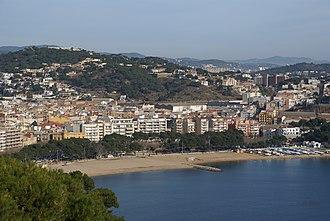 Sant Feliu de Guíxols - Image: Sant Feliu des de Sant Elm