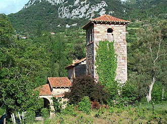 Cillorigo de Liébana - Pre-Romanesque church of Santa María de Lebeña (10th century), in Cillórigo de Liébana.