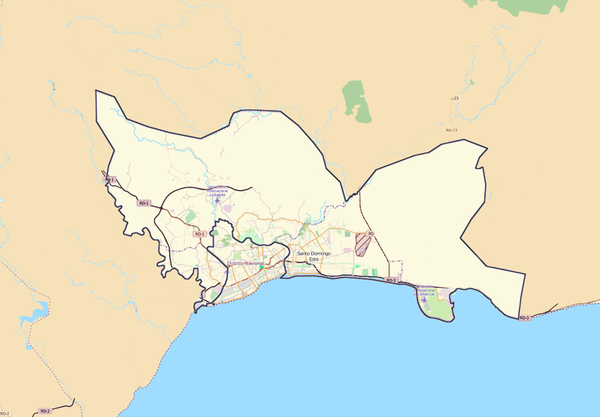 Santo Domingo Location Map.png