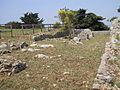 Santuario di Monte Sant'Angelo. Campo trincerato - Triportico braccio ovest 1.JPG