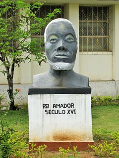 Rei Amador Charismatic figure in the history of Sao Tomé-et-Principe