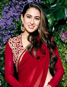 Sara Ali Khan graces Dinesh Vijan's wedding reception and cocktail party (03) (cropped).jpg