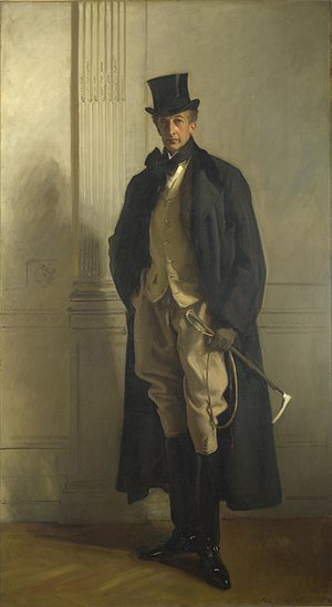 Thomas Lister, 4th Baron Ribblesdale - Portrait by John Singer Sargent
