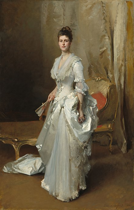 Portrait of his daughter, Margaret, by John Singer Sargent, 1883