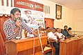 Sathish Kalathil speaks in Oormmappookkal-1.jpg