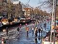 Schaatsen op de Prinsengracht in Amsterdam foto11.jpg