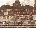 Schiele - Haus mit trocknender Wäsche.jpg