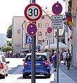 Schilderwald in Passau.jpg