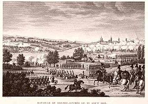 Edme Bovinet - Battle of Dresden
