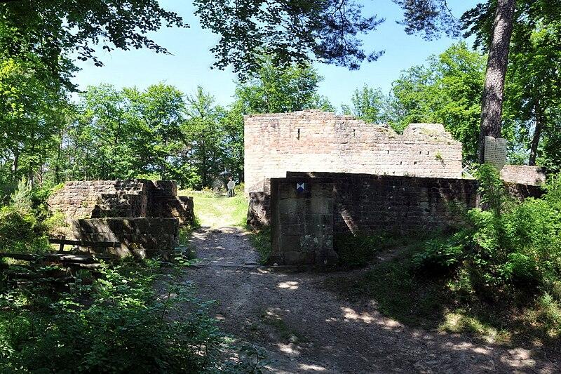 Burg Waldschlössel bei Klingenmünster