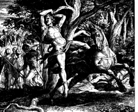 Schnorr von Carolsfeld Bibel in Bildern 1860 105