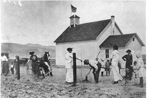Fernley, Nevada - Fernley schoolhouse