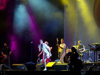 Super Bock Super Rock - Scissor Sisters in 2007.