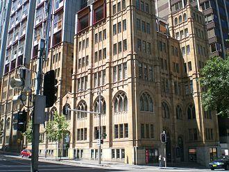 Sydney central business district - Scots Presbyterian Church, York Street
