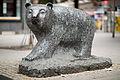 Sculpture Schwarzer Baer Linden-Mitte Hannover Germany.jpg