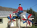 Sculpture in Riverside, WA. Okanogan County, 2010. (33936073112).jpg