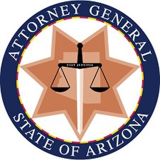 Arizona Attorney General - Image: Seal of the Attorney General of Arizona