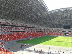 Seating at Singapore National Stadium