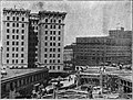 Seattle - Prefontaine Building under construction, 1909.jpg